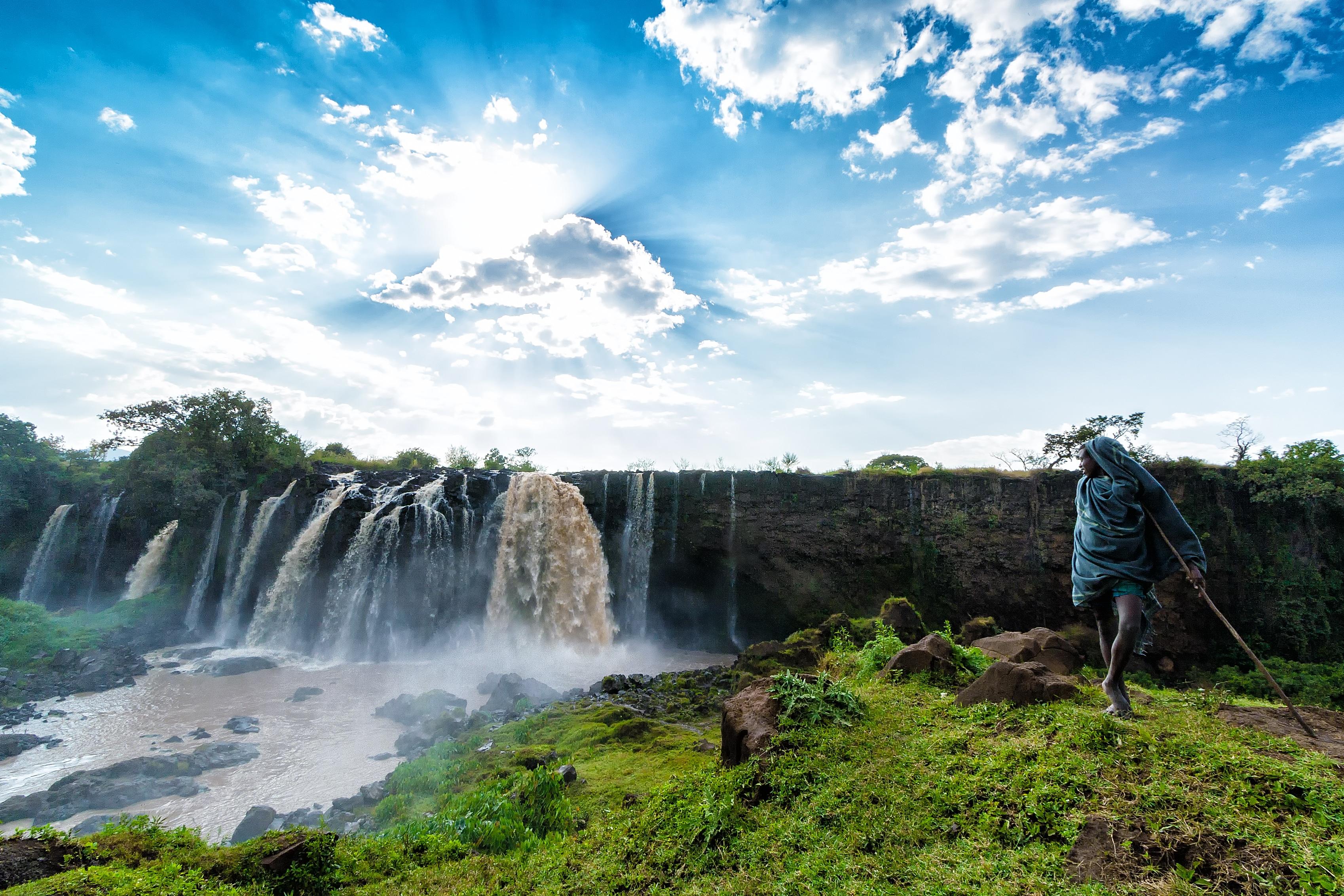Blauer-Nil-Fälle Äthiopien
