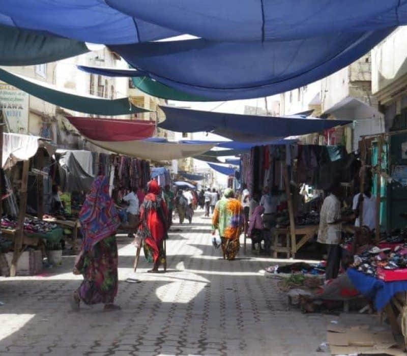 Djibouti rue commerçante