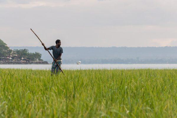 lago de pescadores Awassa Etiopía