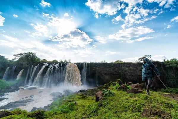 Cataratas del Nilo Azul Etiopía